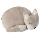 Pillow fox tail, multicolored