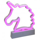 unicornio rosa, rosa forma unicornio