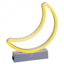 shape led to set moon fishing, yellow