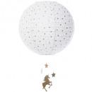 paper ball d.35 unicorn, white
