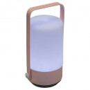 roze, roze led-lamp