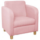 chic old armchair pink, pink