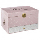 unicorn music box, pink