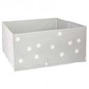 recipiente de almacenamiento x2 gris estrellas, gr