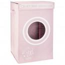 laundry bin pink porthole, pink