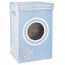 laundry bin porthole blue, light blue