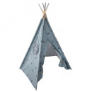 wholesale Children's Furniture: teepee 5 feet h.160 cm silver, blue