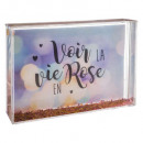 water glitter frame times assorted , 3- times asso