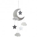 suspension moon gray, multicolored