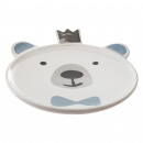 assiette ourson, multicolore