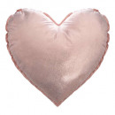 Pillow gold and pink heart, 2- times assorted , co