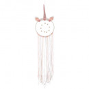 attrape reves licorne, rose
