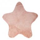 alfombra estrella rosa, rosa