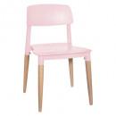silla desiguirlande polipropileno rosa, rosa