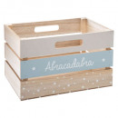 new style blue, multicolored crate