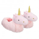 wholesale Fashion & Apparel: children unicorn slippers, 2- times assorted , mul