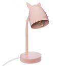 solapa de oreja de metal rosa, rosa