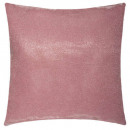 Pillow 39x39 pink lurex, pink