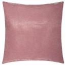 Kussen 39x39 roze lurex, roze