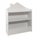 wholesale furniture: library + white bin, white