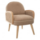 fauteuil canage enfant taupe, taupe