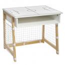 mayorista Mobiliario y accesorios oficina y comercio: escritorio de la jaula de fútbol, blanco