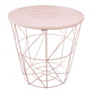 wholesale Children's Furniture: storage table kumi pink, pink