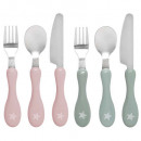 wholesale Cutlery: covered box 12 pcs, 2- times assorted , colors as
