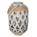 bamboo lantern etnik h.32, 2- times assorted , col