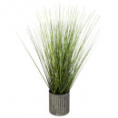 wholesale Garden & DIY store: grass pot metal use h45, gray