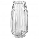 vase verre origami h25,5, transparent