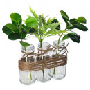 wholesale Drinking Glasses: green compo tube vr h25, transparent