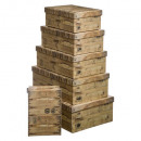 box x6 crate, 2- times assorted , multicolored