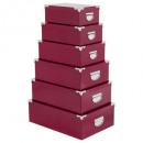 mayorista Organizadores y almacenamiento: esquinas de metal de caja x6 uni berry, rojo oscur
