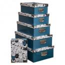 esquinas de metal de caja x6 animales bd, 2- veces