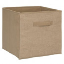 storage box 31x31 burlap