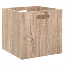 storage box 31x31 wood nat