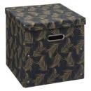 faltbare Box 31x31 Dekor, verschiedene Farben