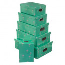 x6 sirocco box, 2- times assorted , multicolored