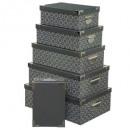 Box Metallecken x6 eden, 2- fach sortiert , multic