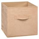 Caja de almacenamiento 31x31 suedina, 2 veces surt