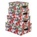boite x4 jungle zebre, 2-fois assorti, couleurs as