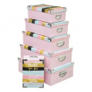 metal x6 pastel box, 2- times assorted , multi