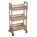 serving wooden crate