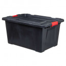 box 100l blind n 'lock black, black