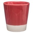 tasse esp nuance rouge 12cl, 4-fois assorti, coule