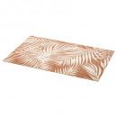 conjunto de mesa de palma 45x30cm blanco