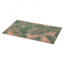 set table palme 45x30cm vert