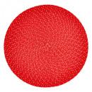 set mesa trenza iris 38 rojo