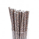 straws x100 jangal paper, 3- times assorted
